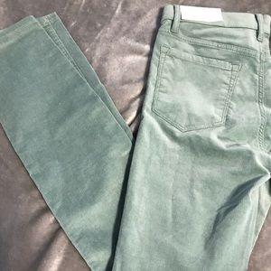 NWT Loft Modern Skinny Corduroy Pants